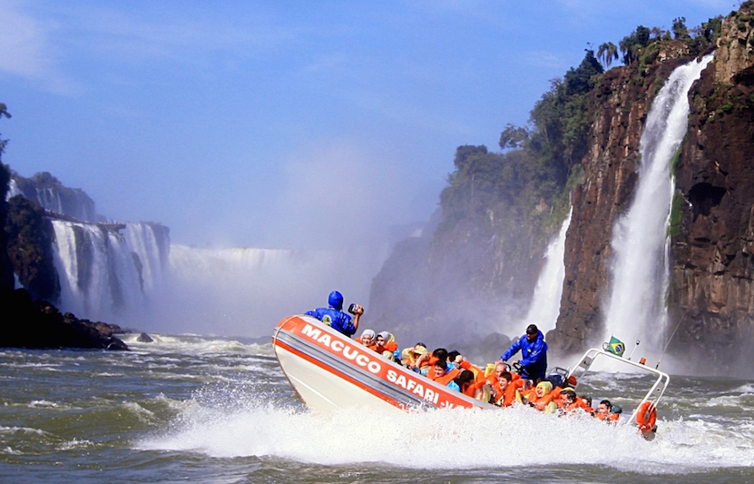 Macuco Sáfari nas Cataratas do Iguaçu