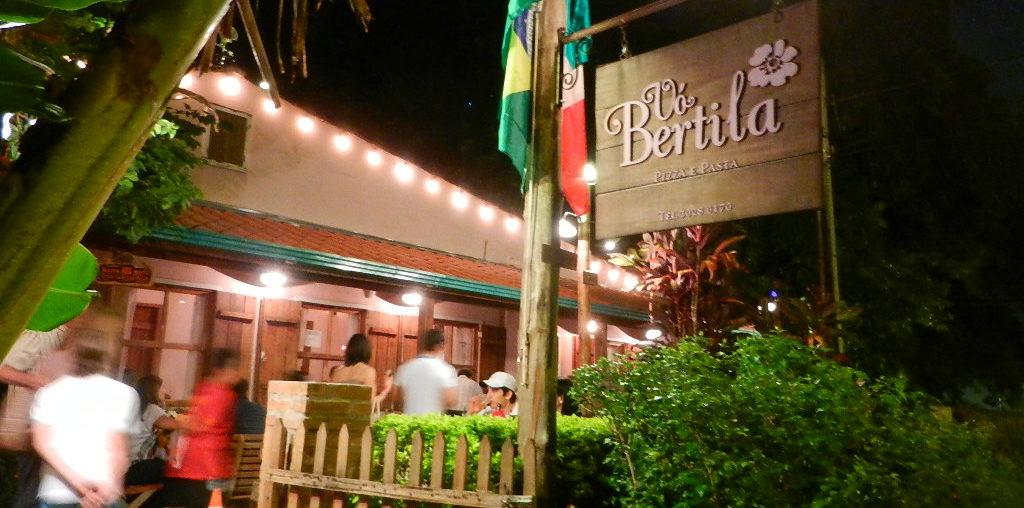Restaurante Foz do Iguaçu - jantar no Vo Bertila