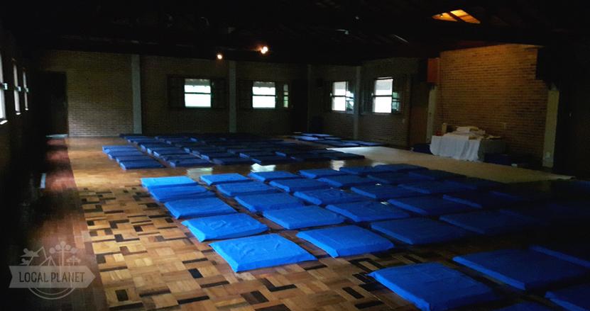 Sala de meditação Vipassana