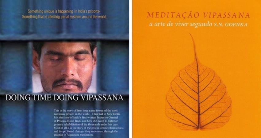 Documentário e livro sobre meditação Vipassana