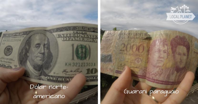 Moedas da tríplice fronteira: dólar norte-americano e guarani paraguaio